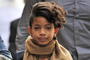 Willow Smith Short Wavy Cut