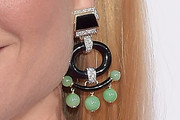 Gwyneth Paltrow Dangling Gemstone Earrings