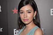Christian Serratos Retro Hairstyle