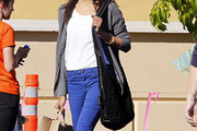 Zoe Saldana Knit Hobo Bag