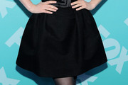 Zooey Deschanel Mini Skirt