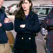 Zooey Deschanel Clothes - Pea Coat