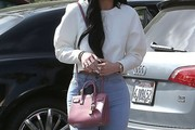 Kylie Jenner Leather Shoulder Bag