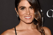 Nikki Reed Side Swept Curls