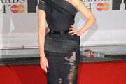 Dannii Minogue One Shoulder Dress