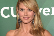 Heidi Klum Long Side Part