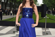 Odeya Rush Strapless Dress