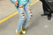 Amber Holcomb Ripped Jeans