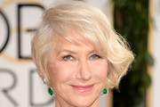 Helen Mirren Bobby Pinned updo