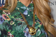 Havana Brown Gold Pendant