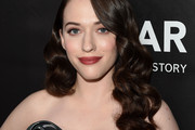 Kat Dennings Retro Hairstyle