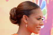 Melanie Brown Braided Bun