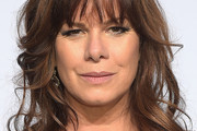 Marcia Gay Harden Long Wavy Cut with Bangs