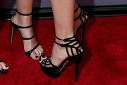 Leslie Mann Strappy Sandals