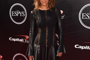 Halle Berry Leather Dress