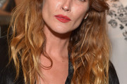 Erin Wasson Long Wavy Cut with Bangs