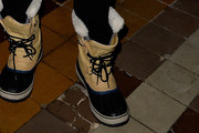 Jared Leto  snow boots