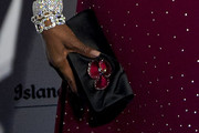 Naomi Campbell Satin Clutch