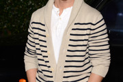 Derek Hough Shawl-Collar Cardigan
