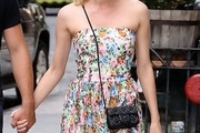 Diane Kruger Studded Shoulder Bag