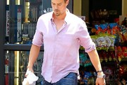 Josh Duhamel Button Down Shirt