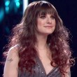 The Voice Long Curls with Bangs