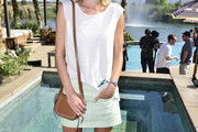 Rosie Huntington-Whiteley Studded Shoulder Bag