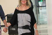 Olivia Newton-John Off-the-Shoulder Top