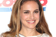 Natalie Portman Long Side Part
