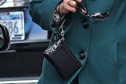Ann Curry Leather Wristlet