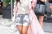 Kourtney Kardashian Evening Coat