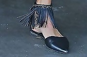 Stacy Keibler Pointy Flats