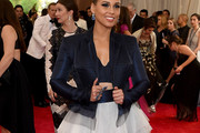 Alicia Keys Cropped Jacket