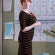 Mad Men Print Dress