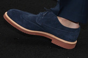 Andrew Rannells Suede Loafers