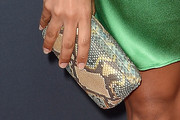 Dania Ramirez Leather Clutch