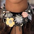 X Factor Beaded Statement Necklace