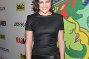 Elisabeth Moss Fitted Blouse