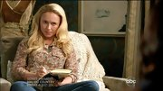 There was no mistaking Hayden Panettiere's country vibe on 'Nashville' in this floral button-down.