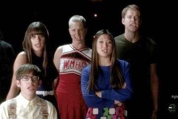 Lea Michele Heather Morris Glee Season 3 Episode 17