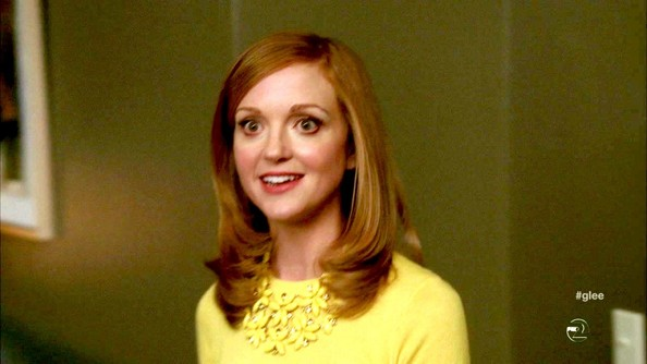 More Pics of Jayma Mays Gold Statement Necklace (1 of 12) - Jayma Mays Lookbook - StyleBistro