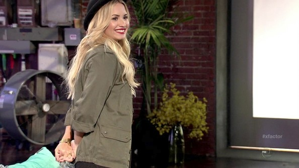 More Pics of Demi Lovato Military Jacket (1 of 6) - Demi Lovato Lookbook - StyleBistro