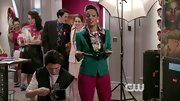 Freema Agyeman's cool green blazer was a funky and fun choice for the actress on 'The Carrie Diaries.'