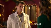 Nick Zano didn't stray from the basics in this white trench coat.