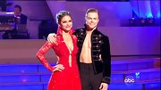 A shirtless Derek Hough hit the 'DWTS' dance floor in a velvet leather-trimmed blazer.