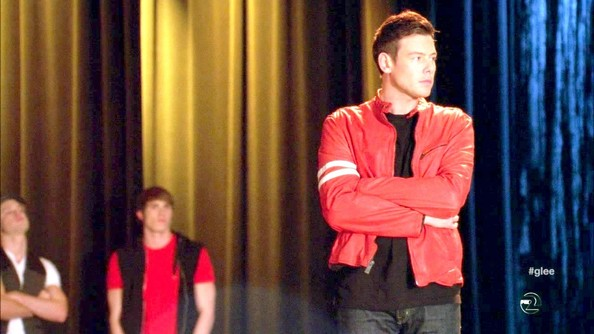 More Pics of Cory Monteith Crewneck Sweater (1 of 3) - Glee Lookbook - StyleBistro