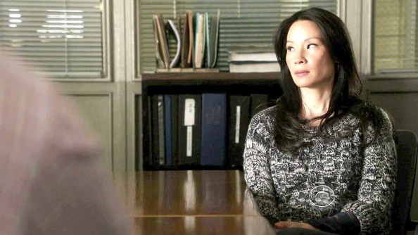 More Pics of Lucy Liu Knit Beanie (2 of 34) - Knit Beanie Lookbook - StyleBistro