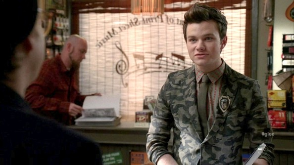 Chris Colfer Blazer