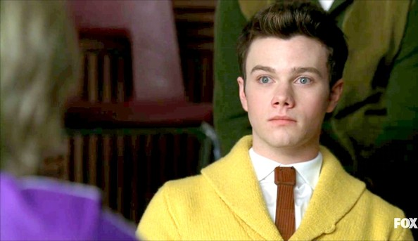 Chris Colfer Narrow Solid Tie