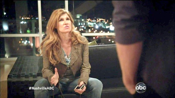 Connie Britton Leather Jacket